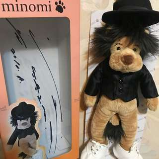 李敏鎬簽名鎮浩獅minimi
