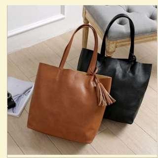 DICARI!!! Bershka Classic Brown Shopperbag