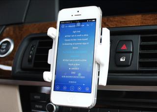 Car phone hp holder bracket hp di AC mobil lucu unik praktis - HMB009