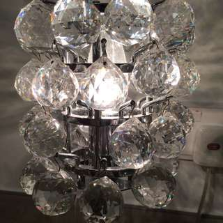 水晶枱燈 Crystal Table Lamp