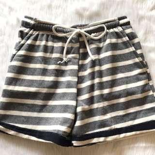 "Jogger Shorts For Women ""stripes"""