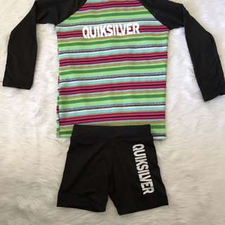 """Rashguard """"quiksilver"""" For Kids 1 To 2 Yrs. Old"""