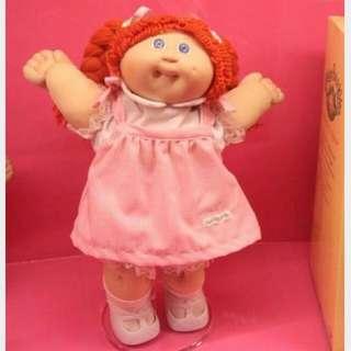 誠微椰菜娃娃