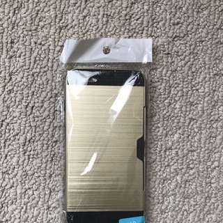 iPhone 6 Plus Gold Phone Case With Cardholder