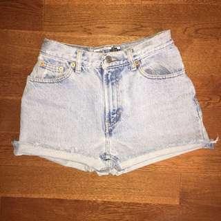 Gap 90s Style High Waisted Shorts