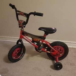 Lightning McQueen (Cars) Bike With Training Wheels