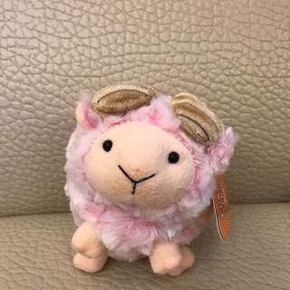 羊咩咩玩偶