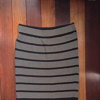 Striped Skirt (Forever 21, Medium)