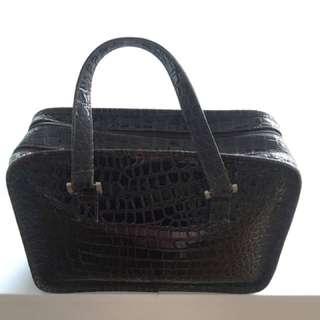 Croc Print Handbag