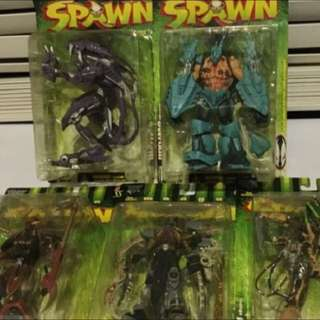 Manga Spawn Set Of 5