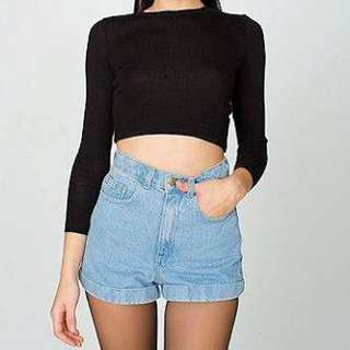 American Apparel® - High Waisted Shorts