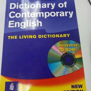 全新Longman Dictionary of Contemporary English