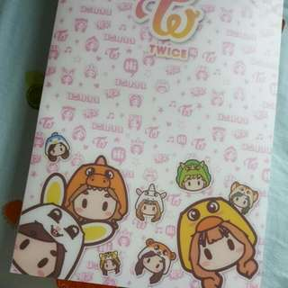 Twice Yes Card Book