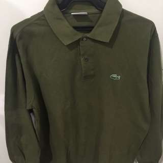 Lacoste Long Sleeved Polo Shirt