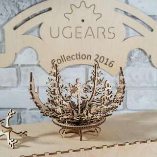 (Instock) Ugears Mechanical Flower - Product of Ukraine