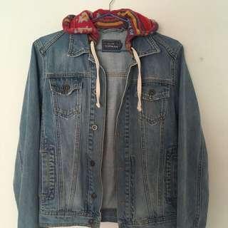 Light Blue TOPMAN Denim Jacket