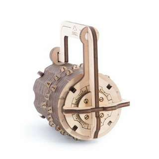 (Instock) Ugears Combination Lock - Product of Ukraine