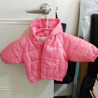 💠adidas 粉紅 羽絨外套 童裝/女童裝