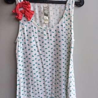 Ribbon Tanktop Zara trf