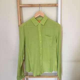 JOE FRESH Silk Shirt