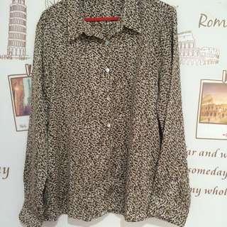 Animal Printed blouse Minimal