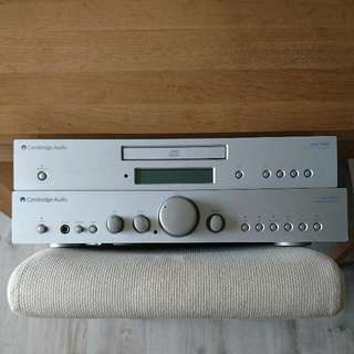 Cambridge Audio Azur 340A Amplifier & 340C CD Player Silver