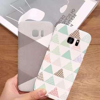 Samsung Galaxy Phone Case Scandinavian Minimalist Simplistic Style (cover shell S6 S7 Edge Plus Kinfolk Nordic Naiise White Tumblr)