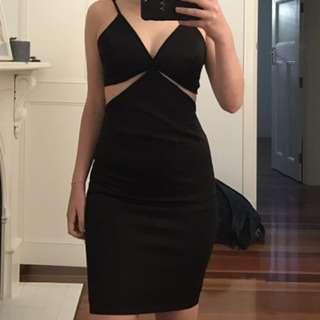 Black MESHKI DRESS