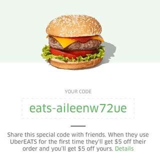 UberEats Code!
