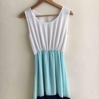 Sunday dress + Tropical dress