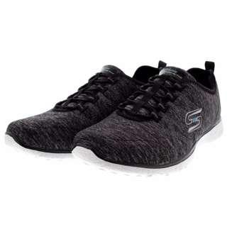 🚚 SKECHERS 黑白 休閒鞋 健走鞋 慢跑鞋 記憶鞋墊