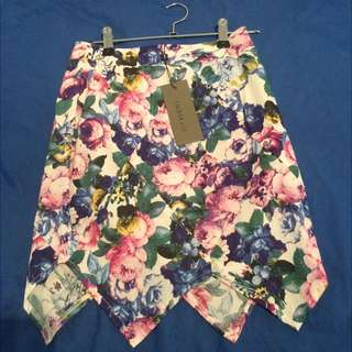 Indikah Floral Skirt XS Brand New