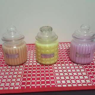 "Soy Wax Small ""Groovy"" Candles"