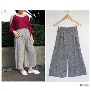 Gray Tweed Culottes- SALE