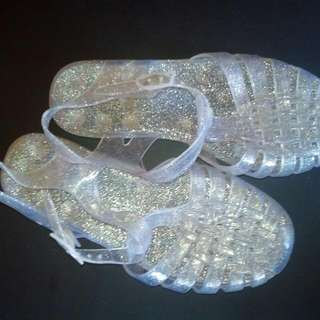 Jelly Glitter Shoe