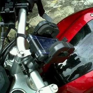 Holder Hp / Gps Di Sepeda Atau Motor