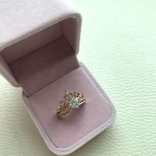 2 In 1 Tiara Ring