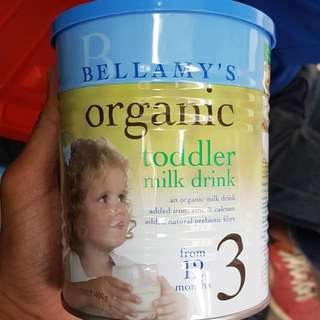 Bellamy's Organic Formula Milk 3