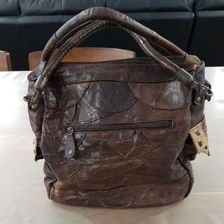 Genuine Full Leather Handbag