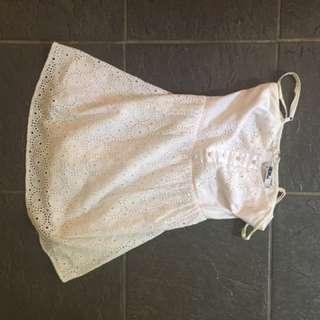 White Mooloola Dress