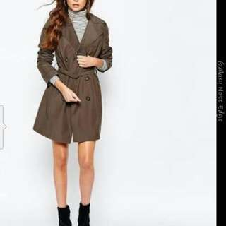 New Look Belted Jacket Size 14