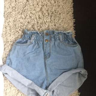 Never Worn Princess Polly Paperbag Shorts