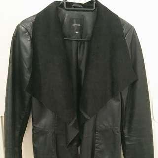 Portmans Leather Waterfall Jacket