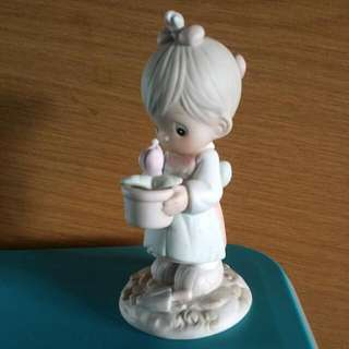 Buy 3 Get 1 Free : Precious Moments Girl Figurine : May