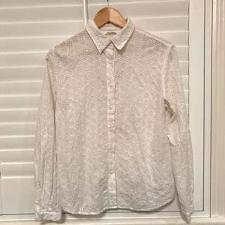 Gorman White Shirt - Size 10