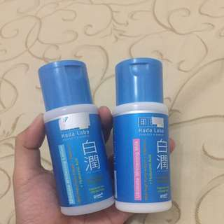 Hada Labo Ultimate Whitening Lotion And Milk
