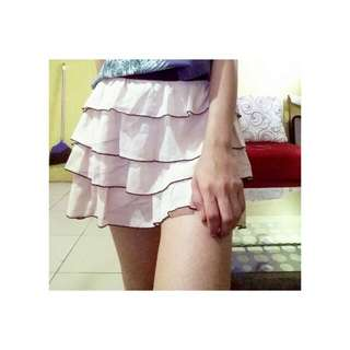 Mini Cutties Rok White