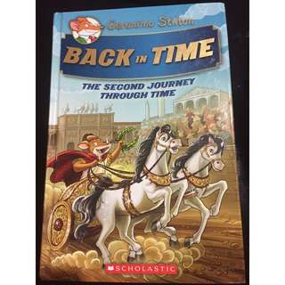 Geronimo Stilton Special Edition: The Journey Through Time #2: Back in Time Hardcover