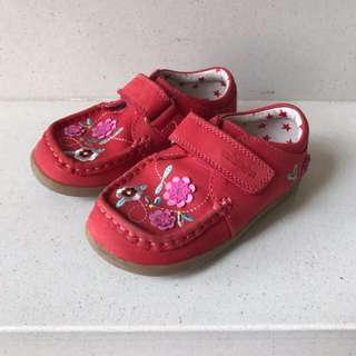M&S Red Walkmates Shoes