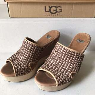 UGG Brown Wedges Shoes